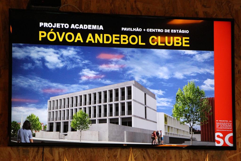 Póvoa Andebol Apresenta Projecto de Pavilhão e Centro de Estágios