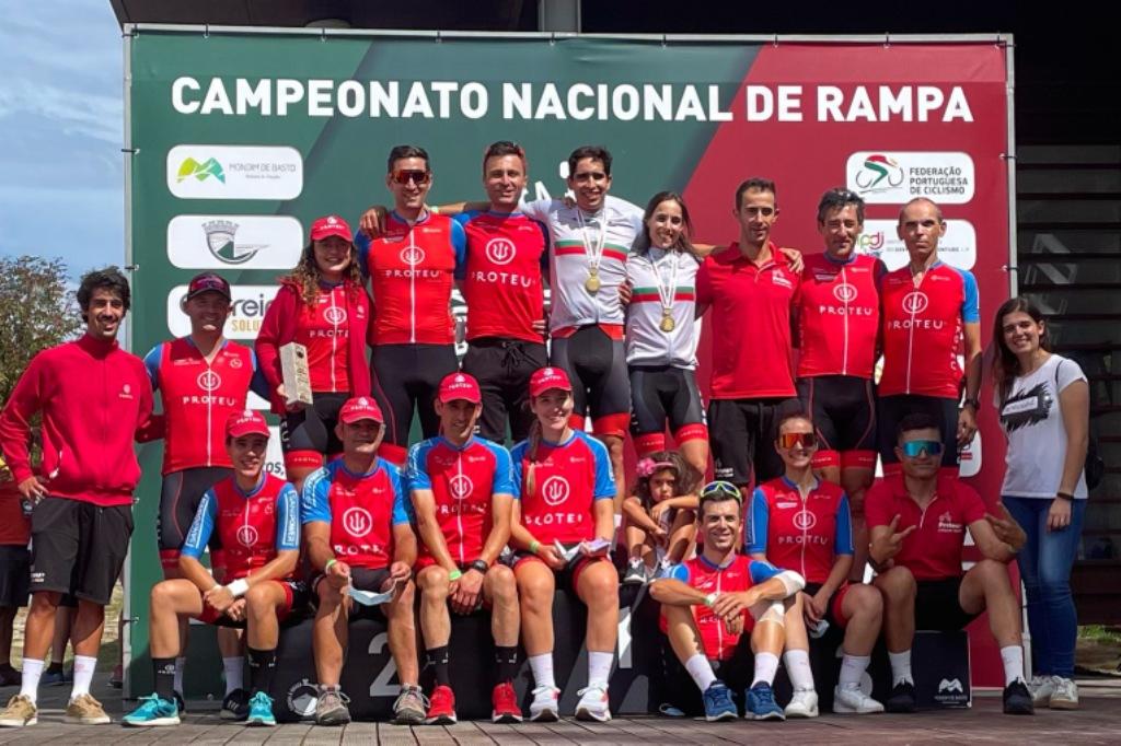 Proteu Cycling Team - Casa do Povo de Retorta são Campeões Nacionais