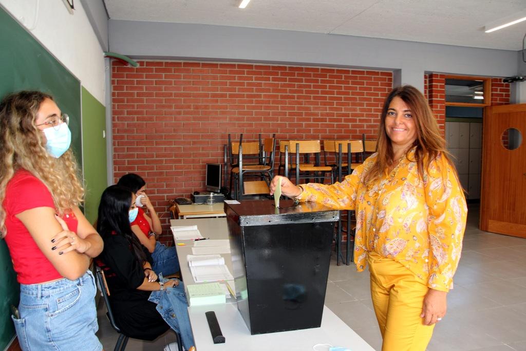 Sónia Vieira Votou a Meio da Manhã