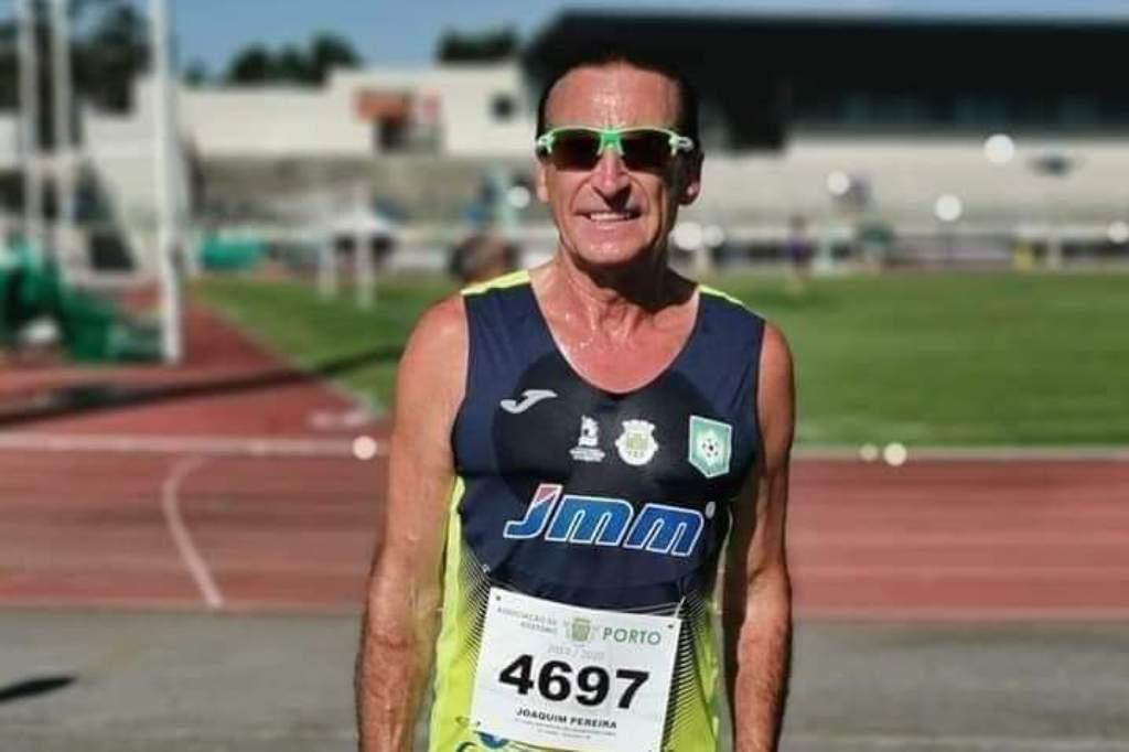Joaquim Pereira é Campeão Nacional de Atletismo