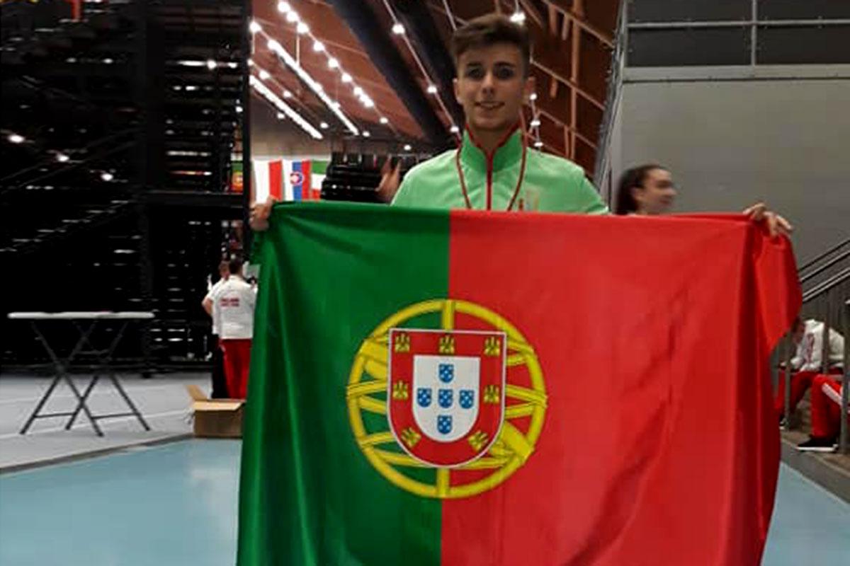 Afonso Azevedo Alcançou o 5º Lugar no Mundial de Karate