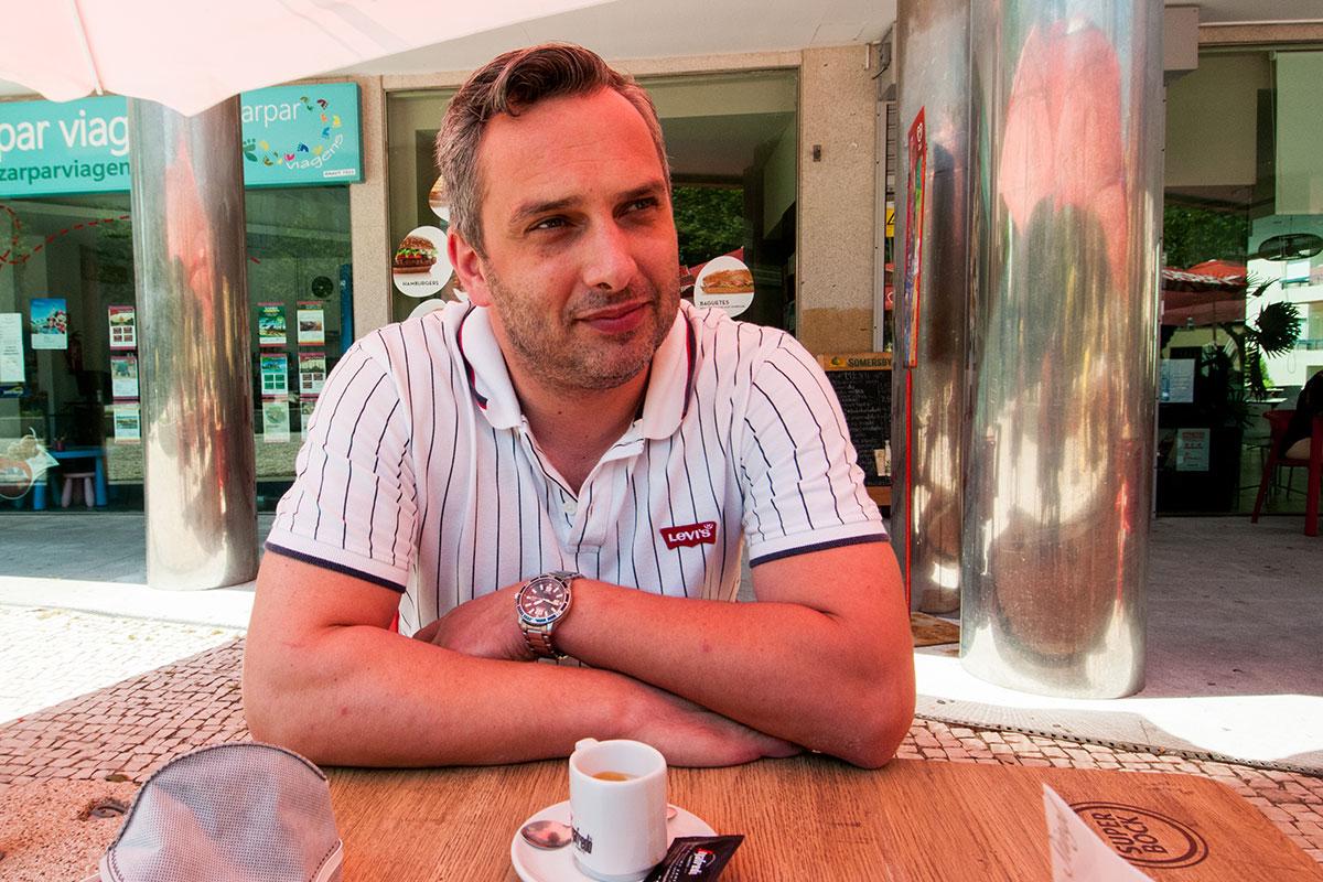 Um Café Com… Mário Cruz