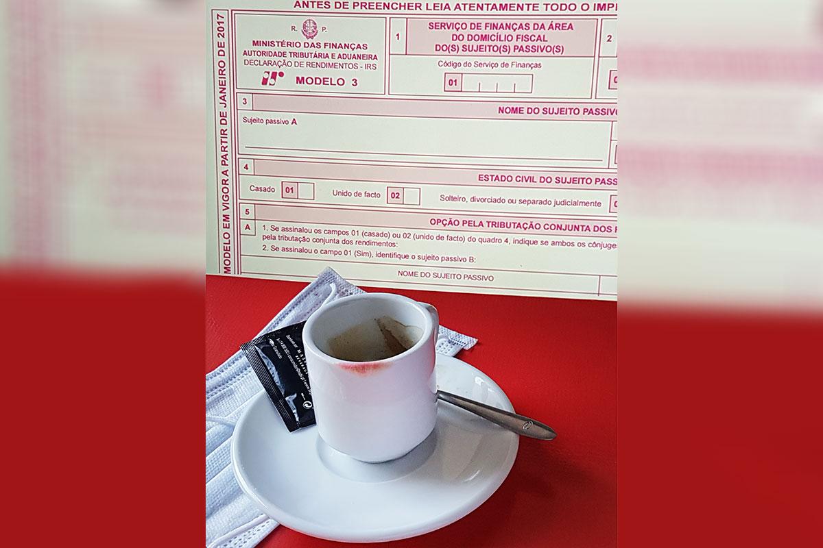 Um Café Com… IRS