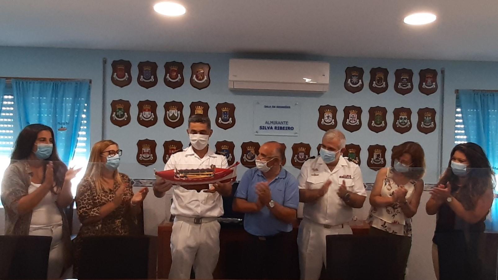 Associação Pró-Maior Homenageou o Comandante Marques Coelho