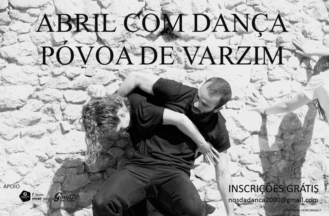 Abril com Dança na Póvoa de Varzim
