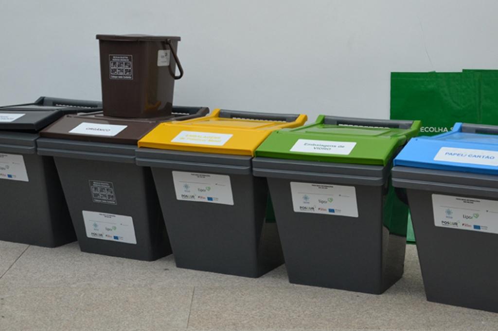 Reciclar: Prédios passam a ter recolha selectiva porta-a-porta