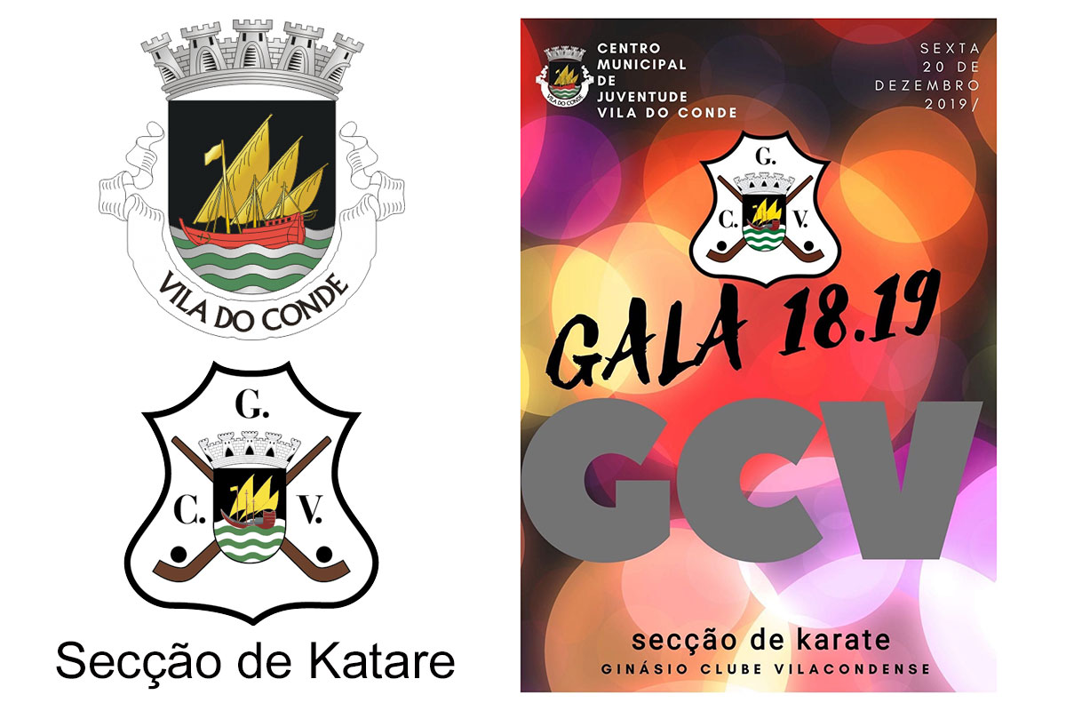 Concentração e Gala de Karatecas
