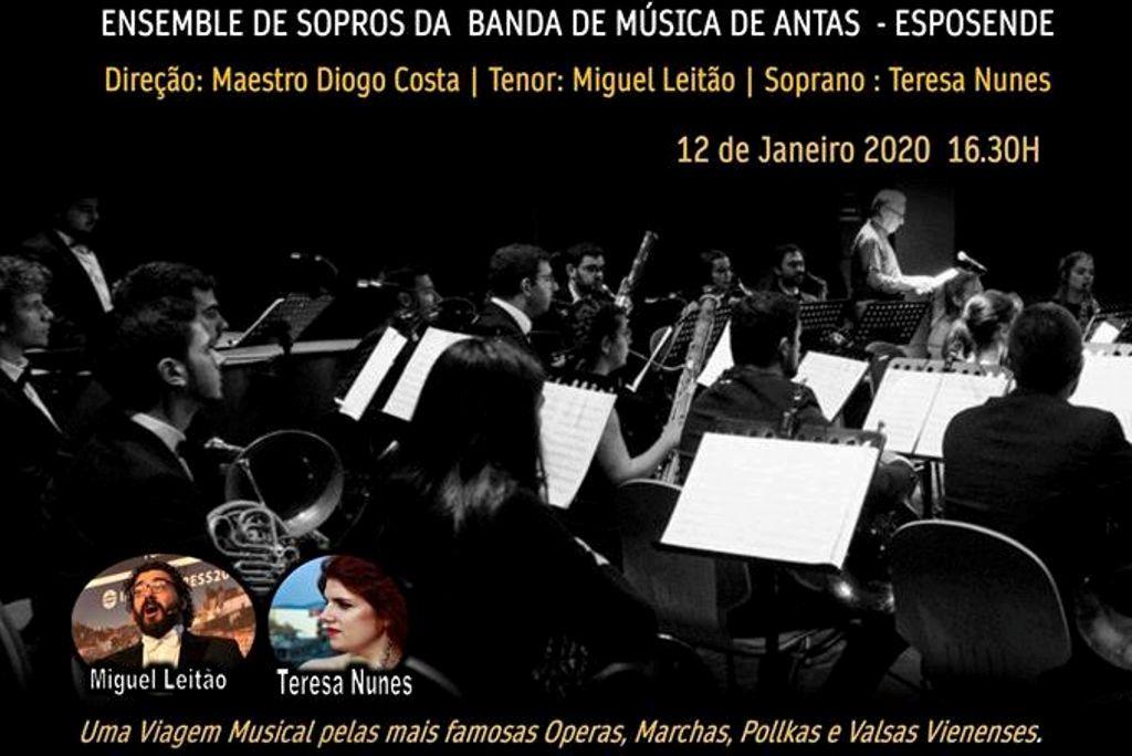 Concerto de Ano Novo em Gião
