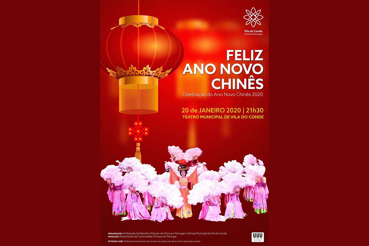 Celebrações do Ano Novo Chinês em Vila do Conde