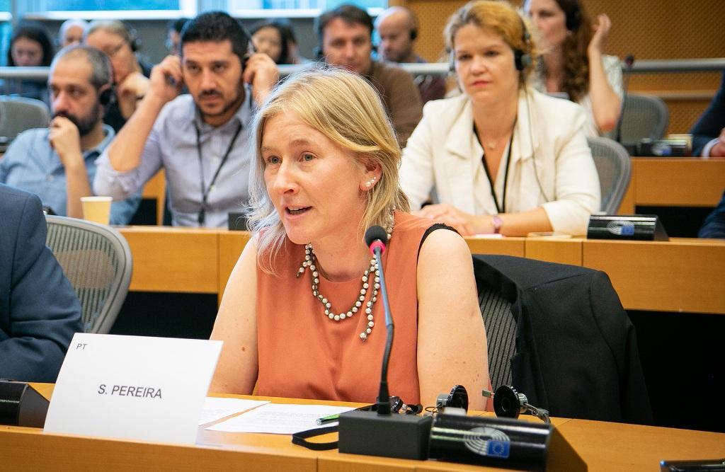 Deputada do PCP no Parlamento Europeu Visita a AGROS