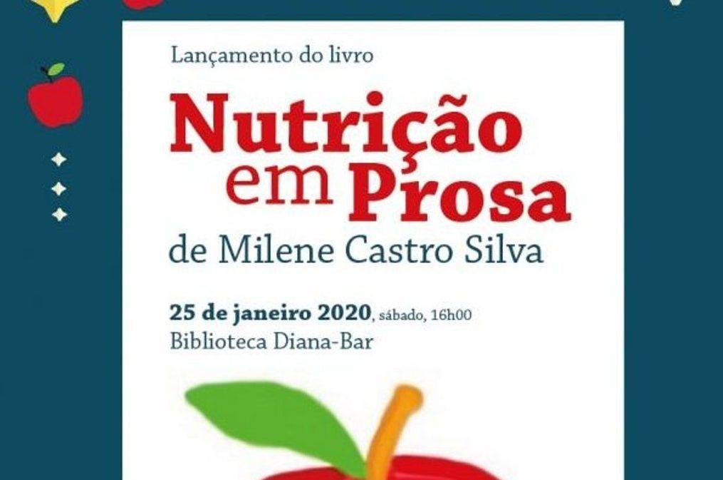 Nutrição em Prosa na Biblioteca de Praia Diana-Bar