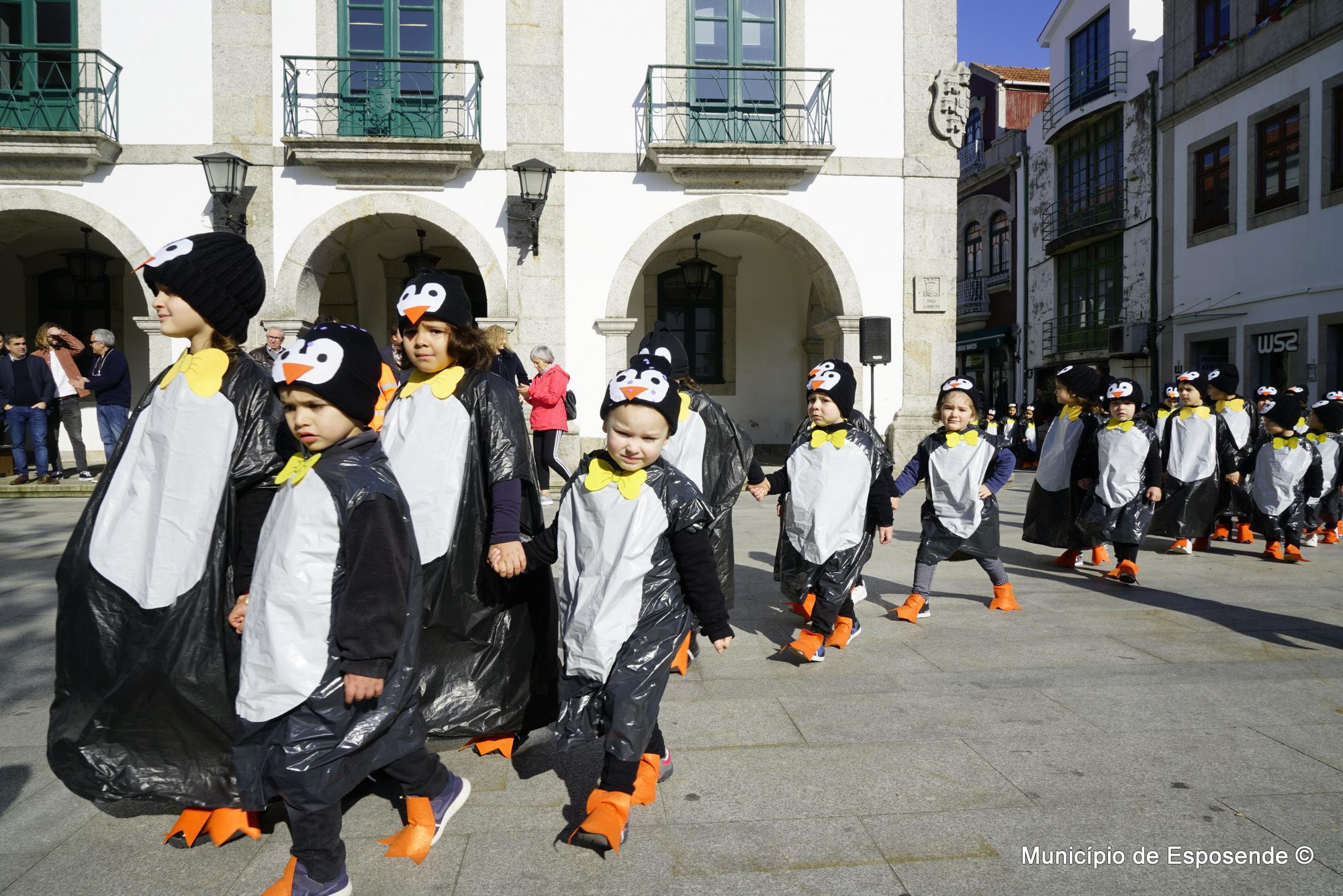 Carnaval Promove Sensibilização Ambiental