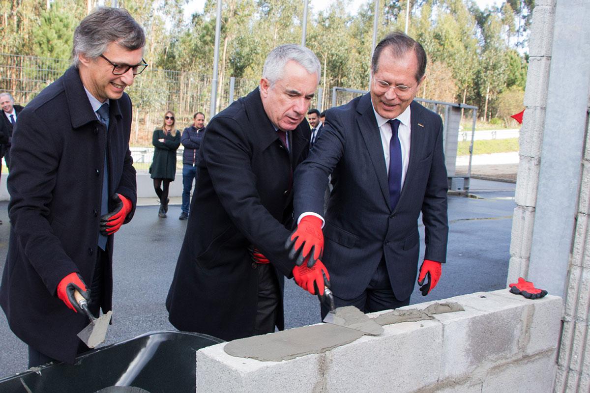 Ampliação das Instalações no Parque Industrial de Laúndos