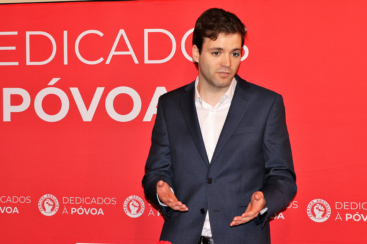 João Trocado Foi Reconduzido na Liderança do PS/Póvoa