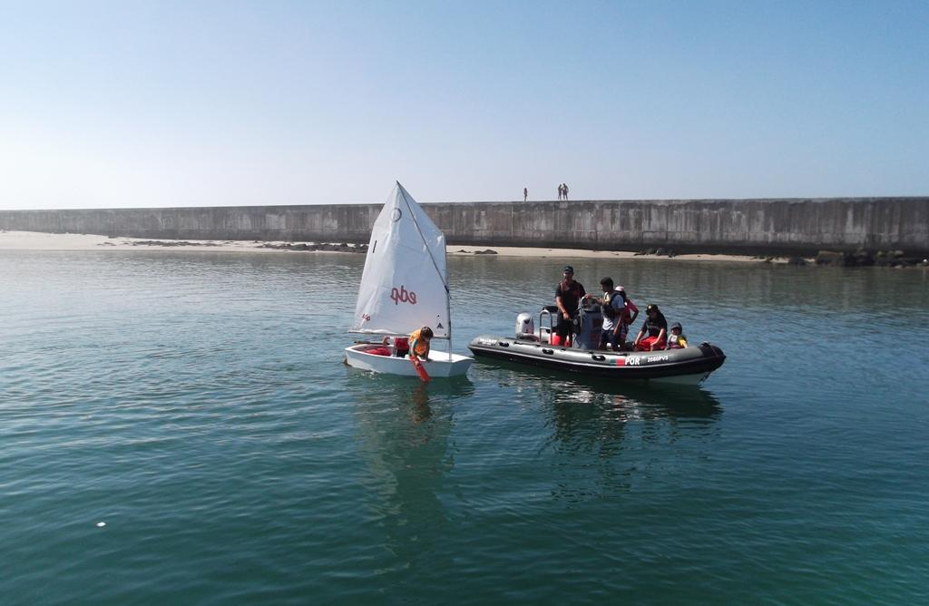 O Regresso ao Mar da Academia de Vela do Clube Naval Povoense