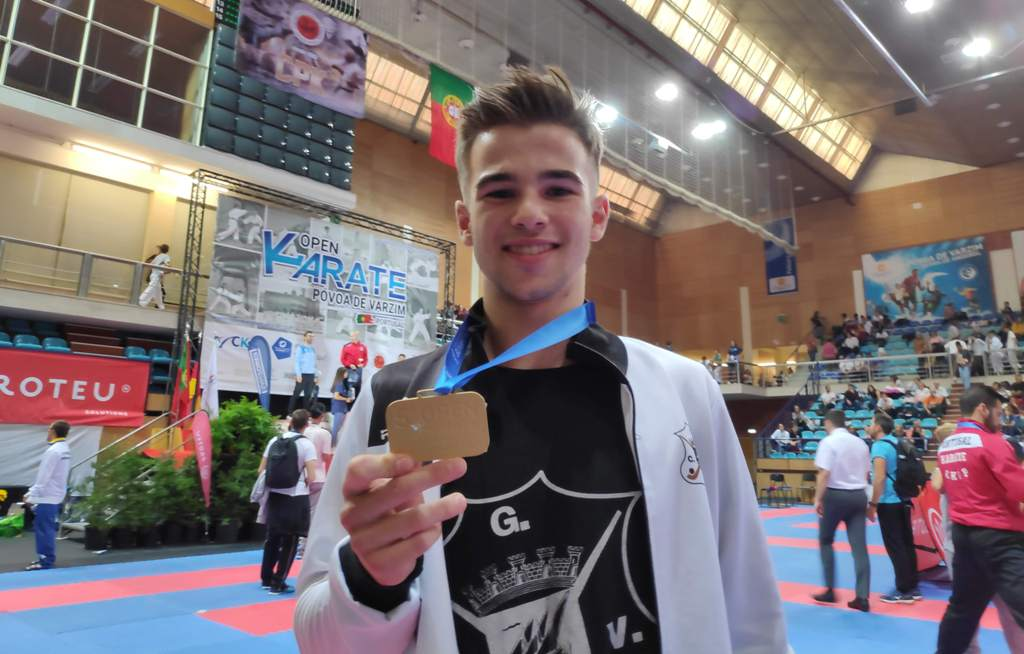 Campeonato do Mediterrâneo com Ouro e Prata para Atletas do GCV