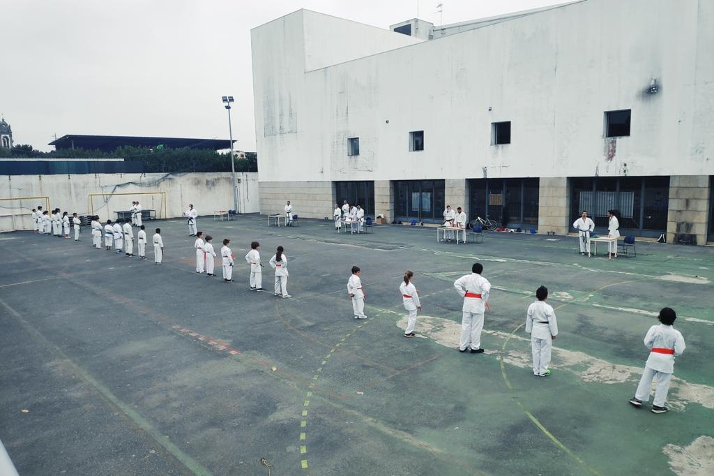 Atletas do Ginásio Clube Vilacondense em Festa Graduada
