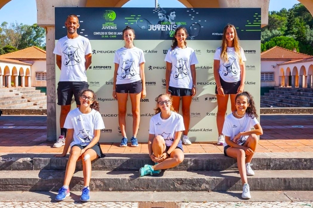 Equipa de Ténis do Ginásio Clube Vilacondense em Destaque