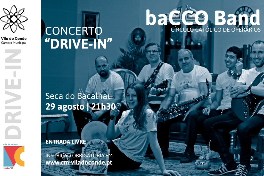 baCCO Band no Drive-in da Seca do Bacalhau
