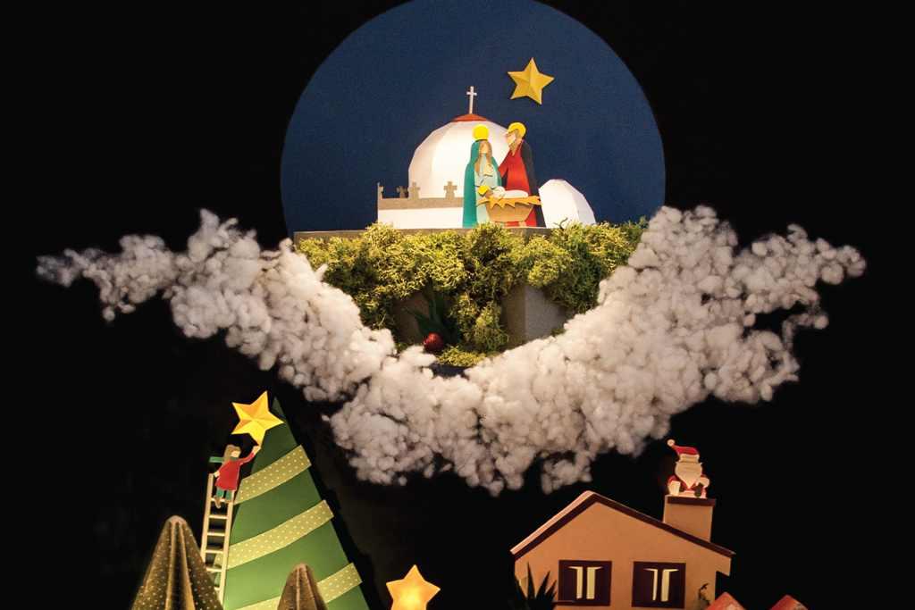 Dezembro Ofereceu os Dias ao Natal
