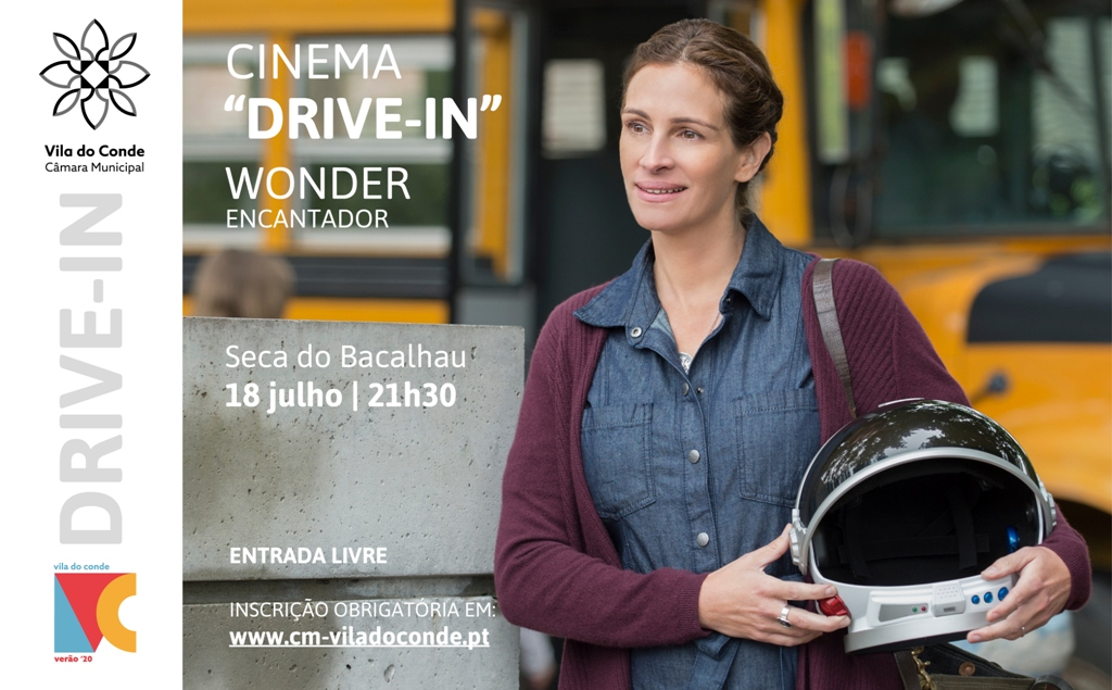 "Cinema Drive-in BA Seca do Bacalhau Apresenta ""Wonder - Encantador"""