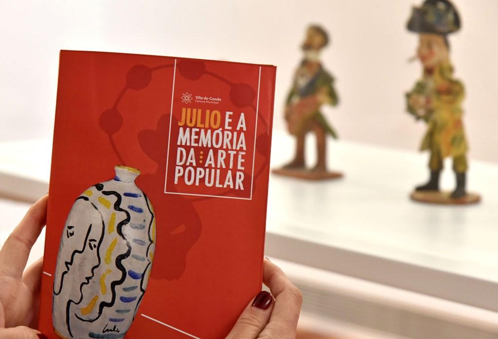 """""""Julio e a memória da arte popular"""" Em Catálogo no Centro de Memória"""