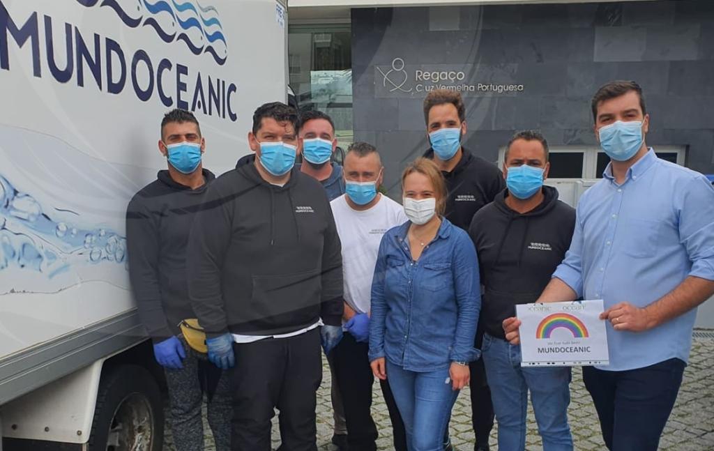 MundOceanic entregou uma tonelada de peixe às IPSS da Póvoa de Varzim