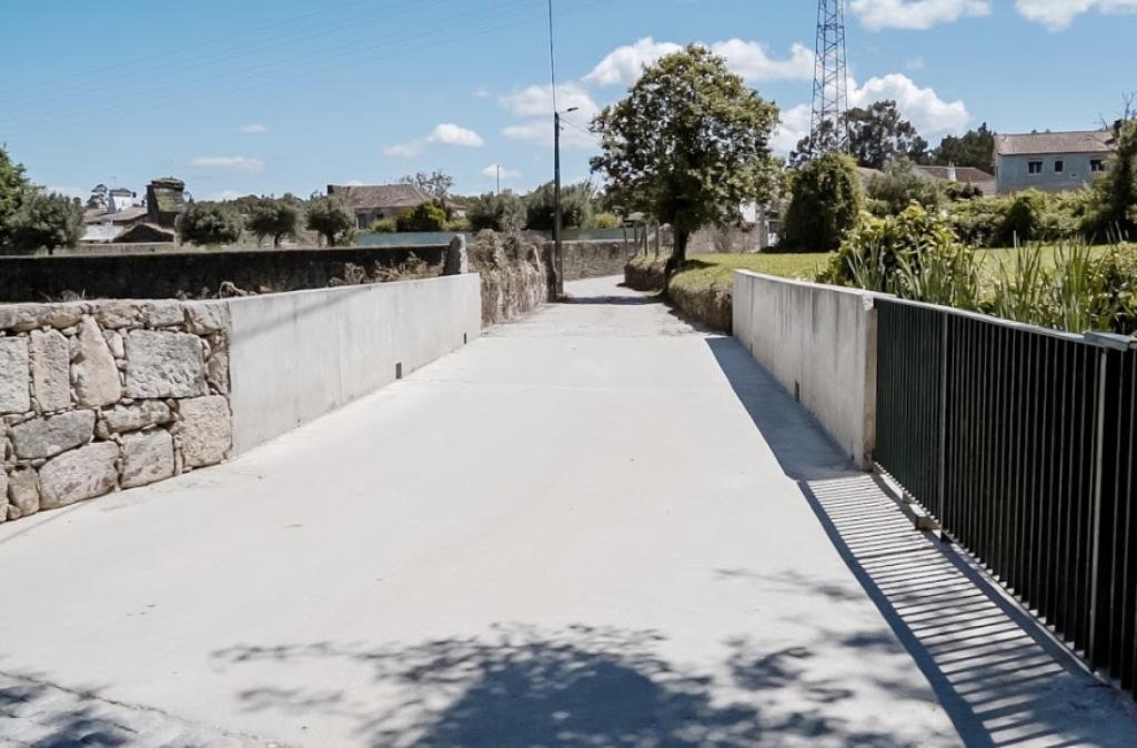 Ponte do Chouso Abraça as Freguesias de Forjães e Antas