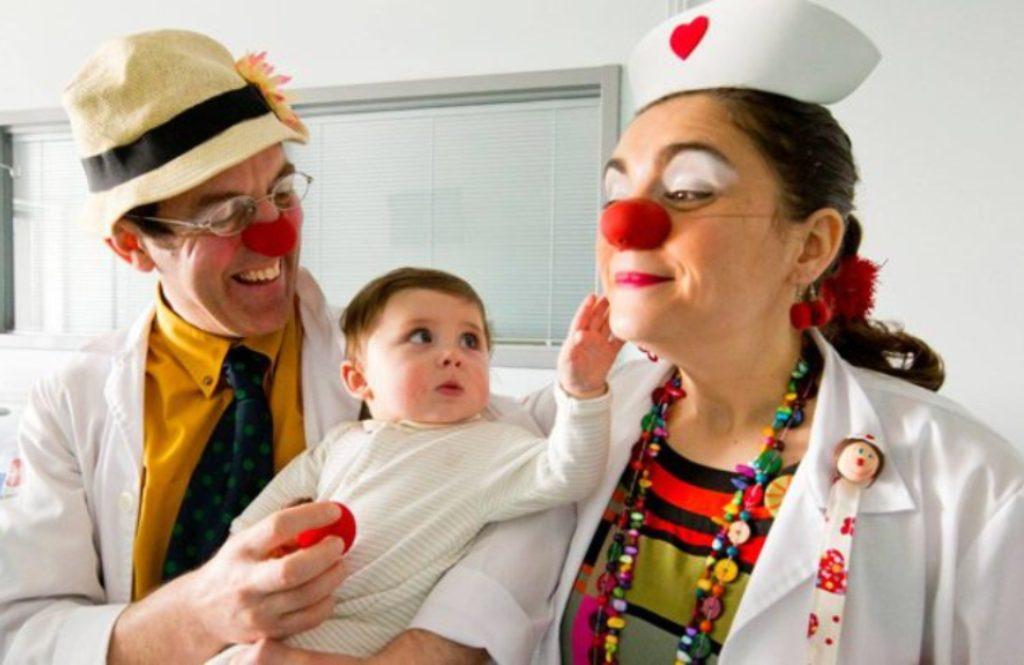 Operação Nariz Vermelho Para Crianças Hospitalizadas