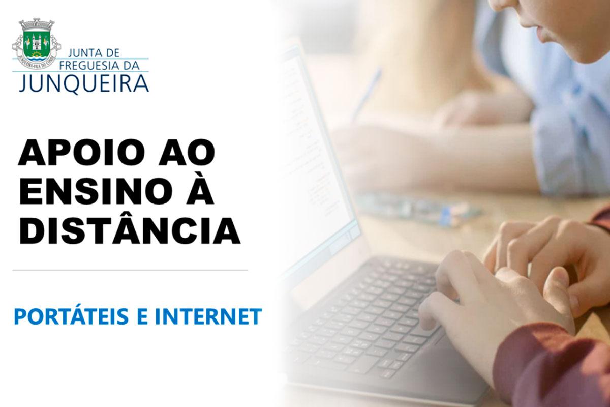 Entrega de Portáteis e Acesso Internet a Alunos Referenciados da Junqueira