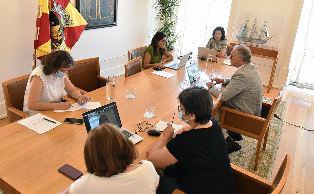 Câmara Reuniu com a Comissão Municipal de Proteção Civil