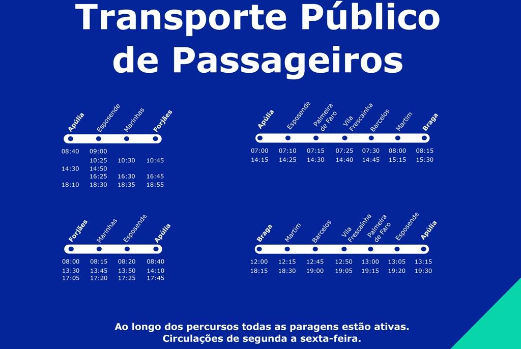 Transporte Público Gratuito Garantido Pelo Município de Esposende