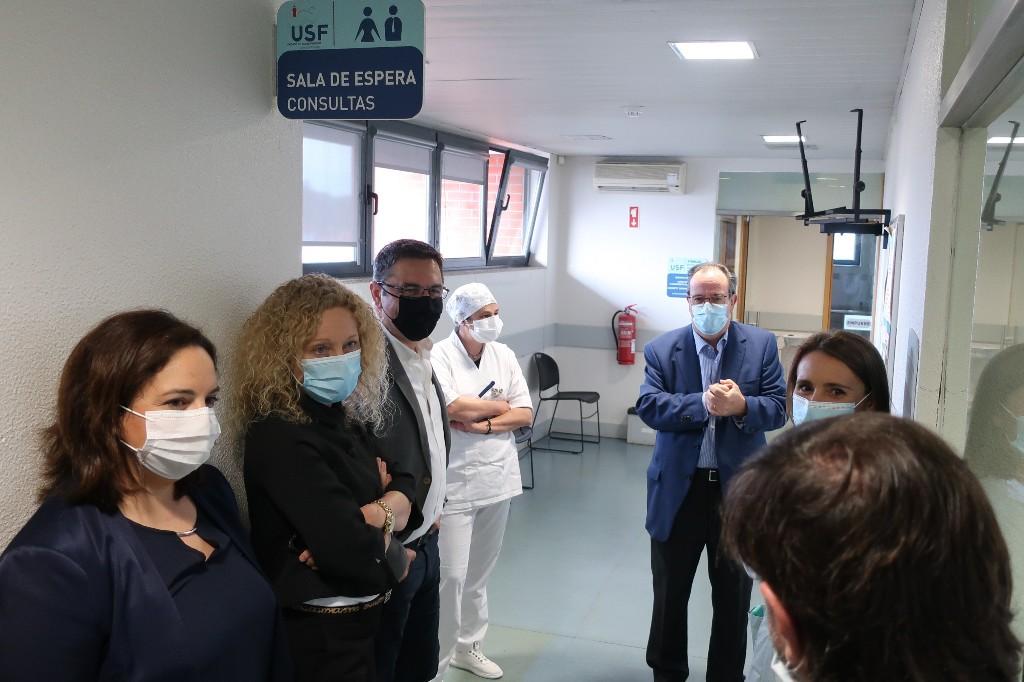 Reabertura da Unidade de Saúde de Forjães