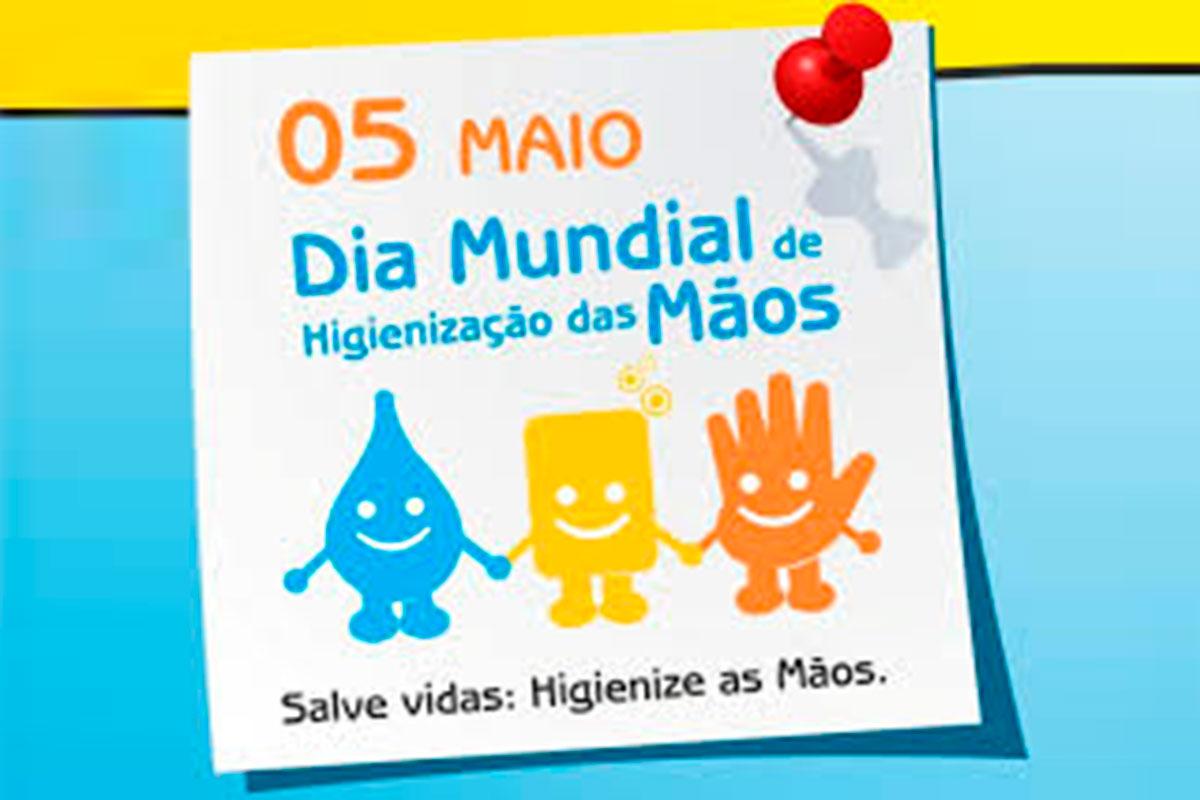 A 5 de Maio Celebra-se o Dia Mundial da Higienização das Mãos