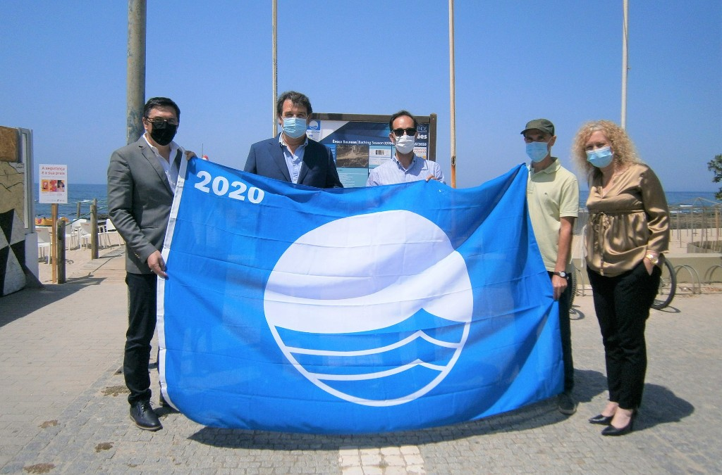 Hasteada a Bandeira Azul em Quatro Praias de Esposende