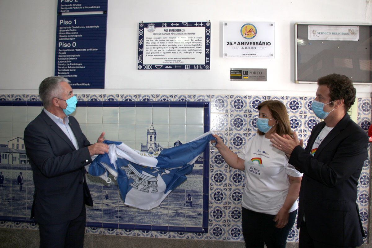 Hospital da Póvoa Assinala o Dia Internacional do Enfermeiro