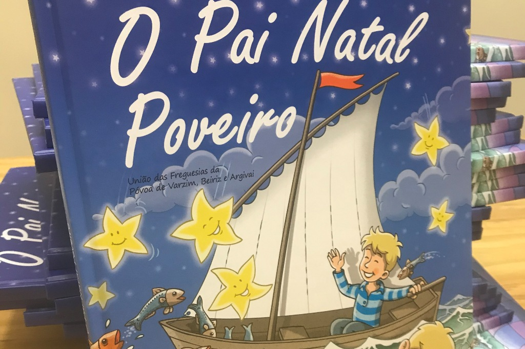 """""""O Pai Natal Poveiro"""" dá Prenda ao Instituto Maria da Paz Varzim"""