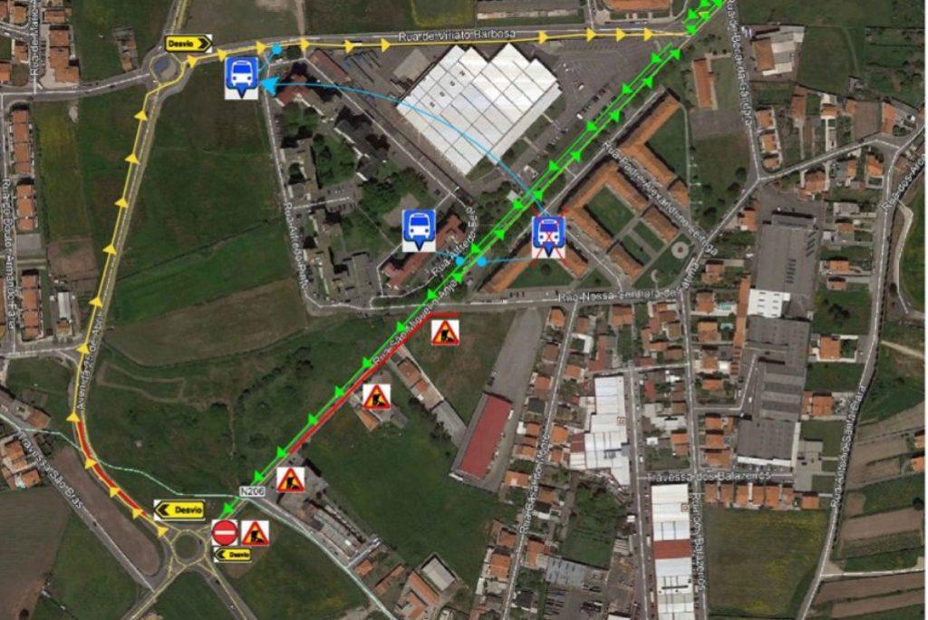 Rua São Miguel O Anjo com Trânsito Cortado
