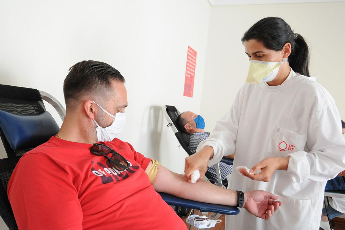 Dar Sangue e a Vida do Outro Receber