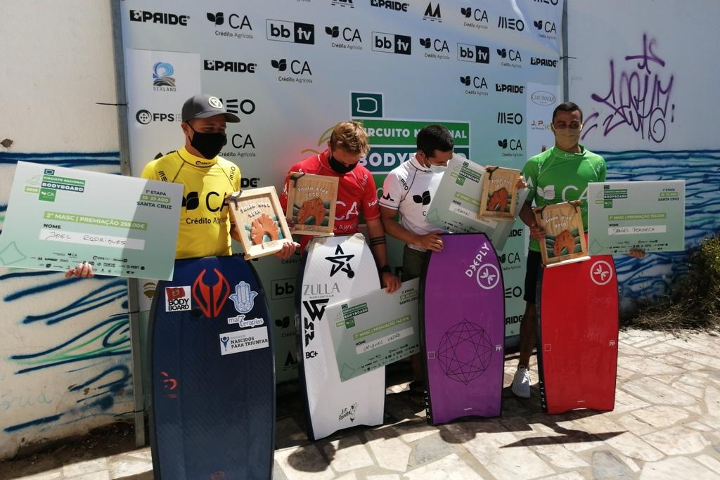 Joel Rodrigues é Vice-campeão de Bodyboard