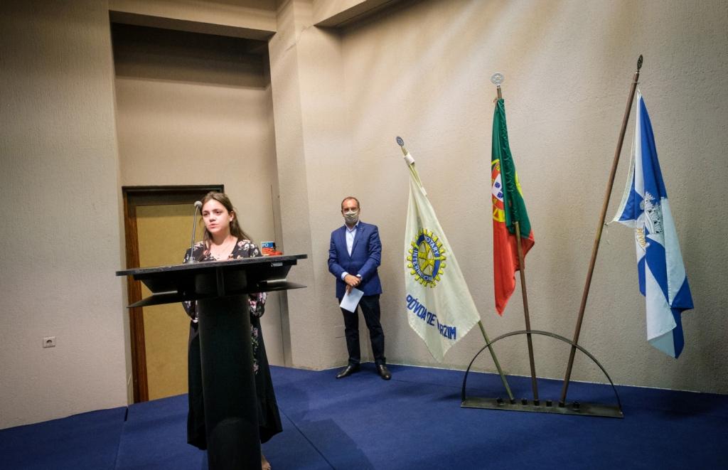 Teresa Castro Lopes Tomou Posse no Rotary Club da Póvoa