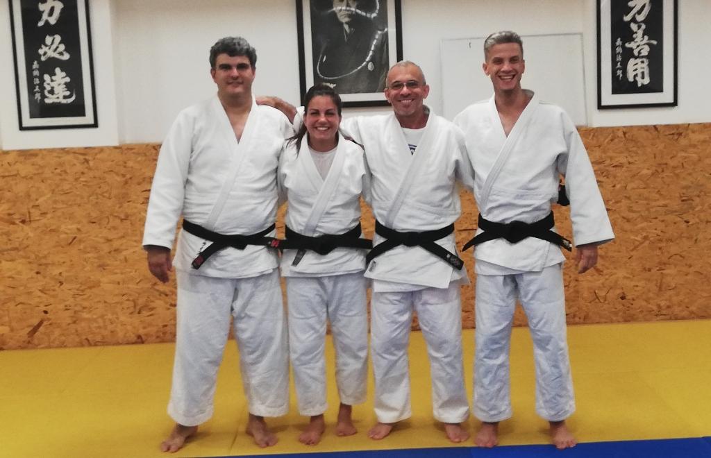 Judocas com Mais e Melhores Cintos Negros no CD da Póvoa