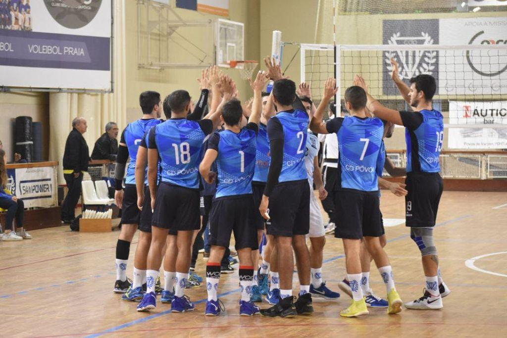 Voleibol do Clube Desportivo da Póvoa é de Primeira