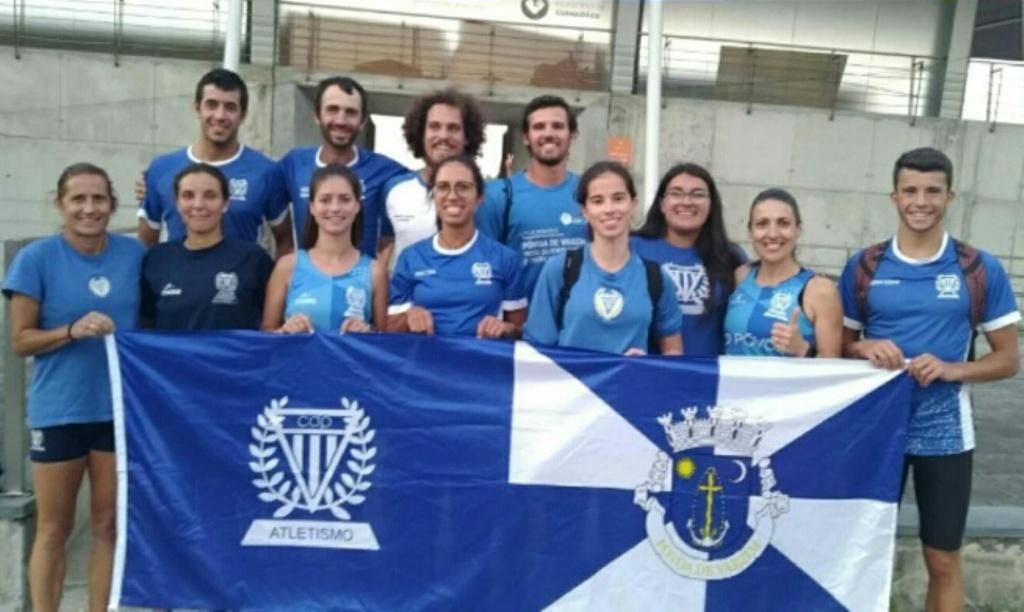 Atletismo CD Póvoa Participou no Apuramento do Campeonato Nacional de Clubes