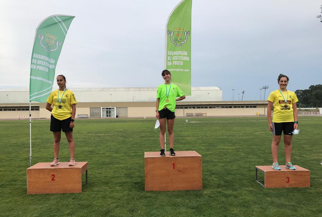 Atlético da Póvoa em Grande nos Regionais de Atletismo ao ar Livre