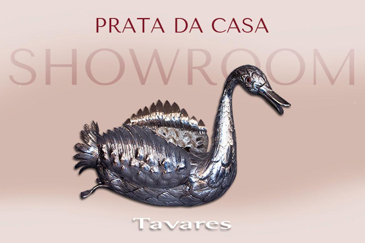 Ourivesaria Tavares apresenta a Prata da Casa