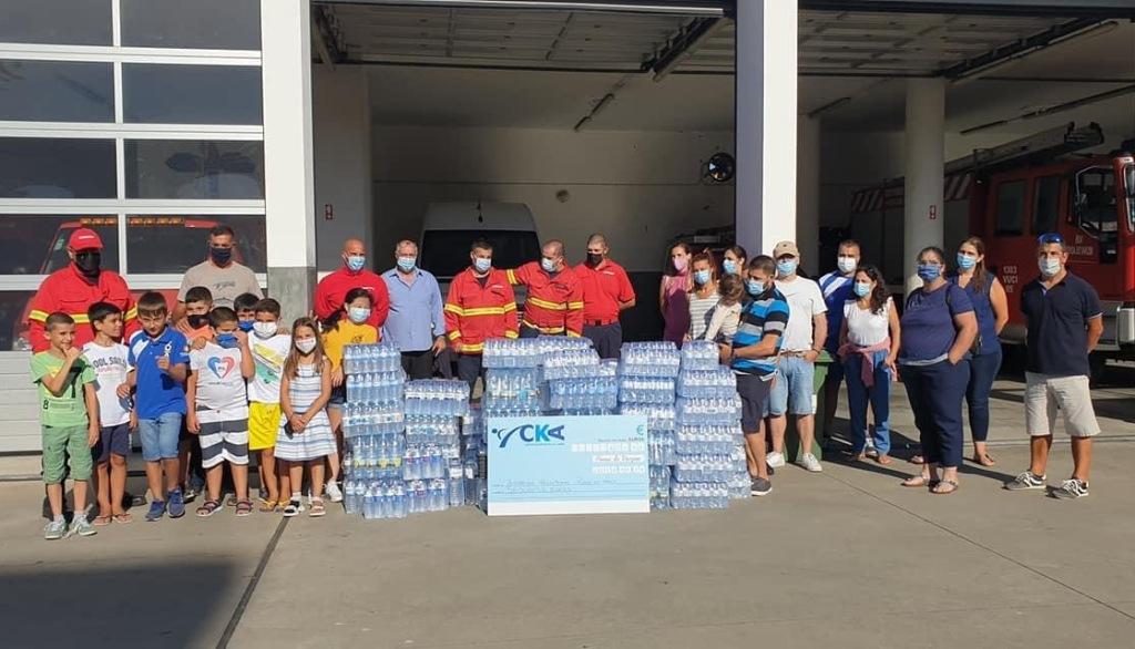 Acção Solidária do CKA para Ajudar os Bombeiros