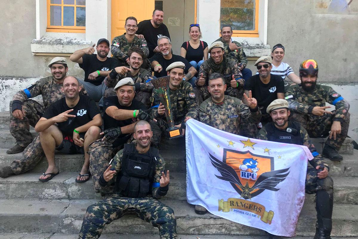 Rangers da Póvoa em França