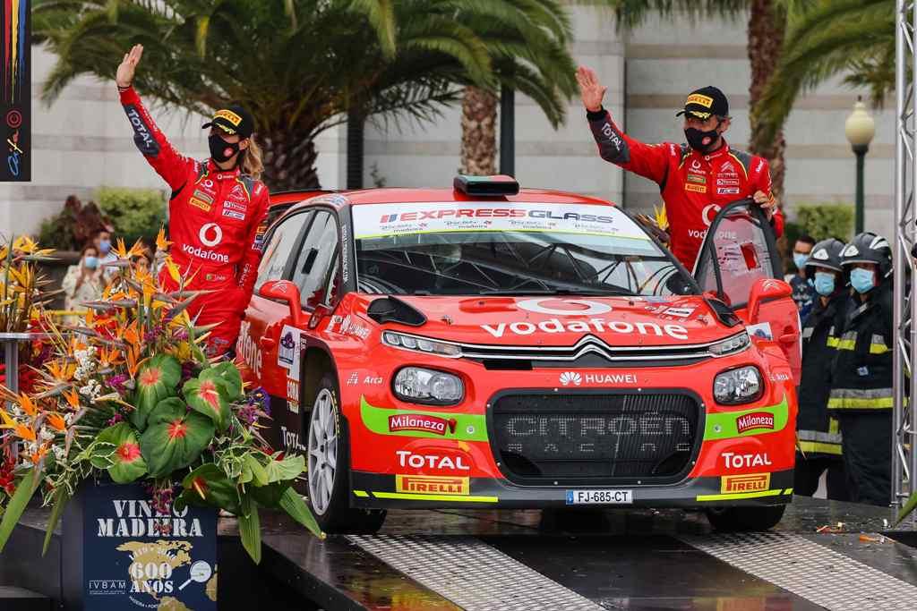 Citroën Vodafone Team relança luta pelo Campeonato de Portugal de Ralis