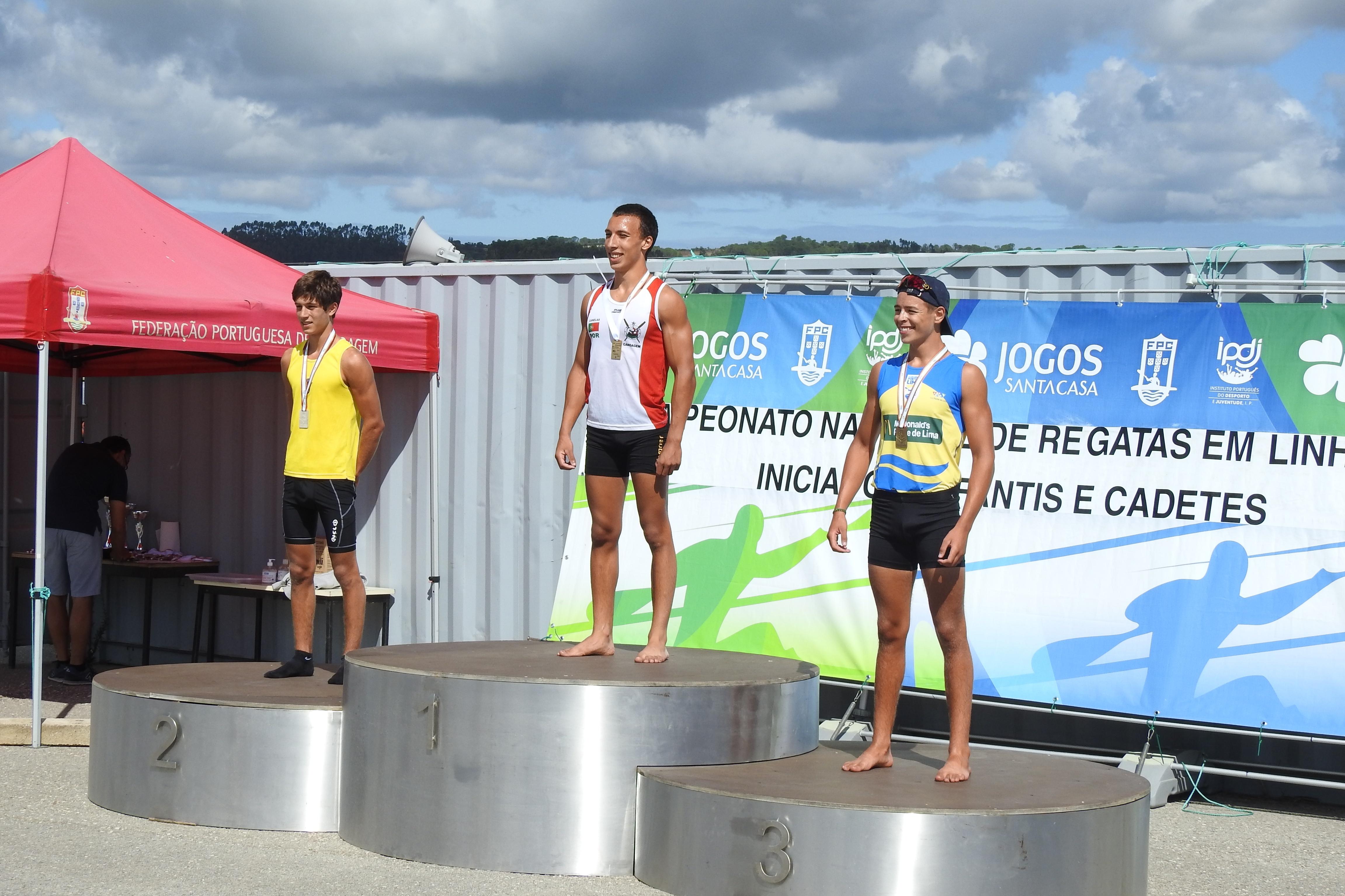Adolfo Ferreira é Campeão Nacional de Velocidade em Canoagem